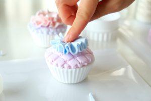 クレイカップケーキ作り